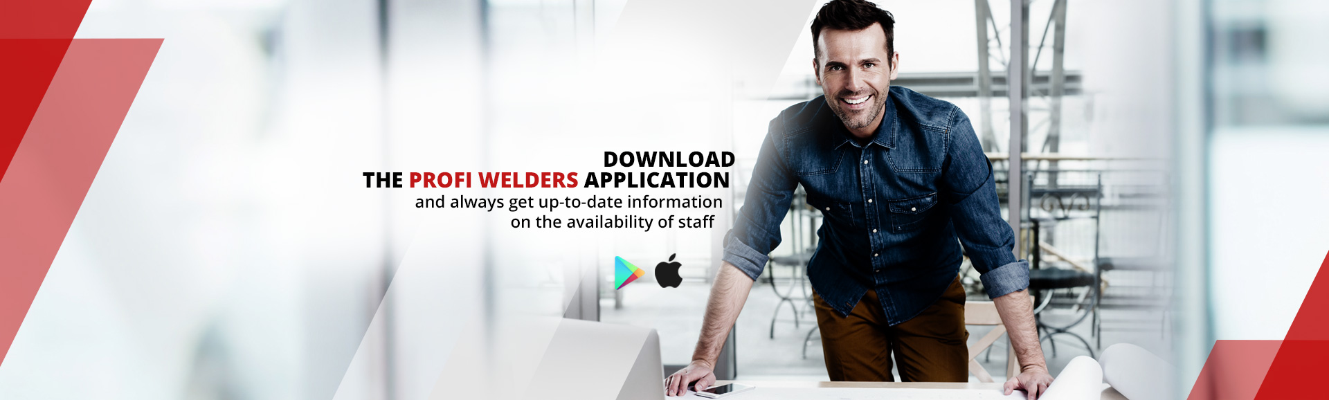 PROFIWELDERS APPLICATION